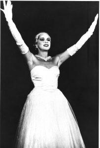 Beatrice Fischer als Evita